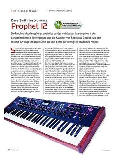 KEYS Dave Smith Instruments Prophet 12