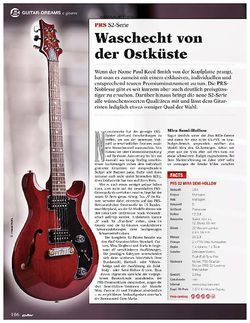 Guitar PRS S2-Serie