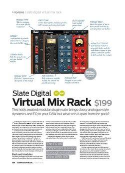 Computer Music Slate Digital Virtual Mix Rack