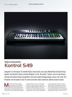 KEYS Native Instruments Kontrol S49