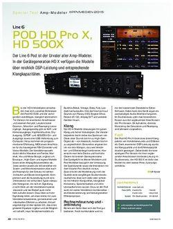 KEYS Line 6 POD HD X