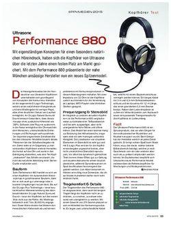 KEYS Ultrasone Performance 880