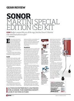 Rhythm Sonor Martini Special Edition SE Kit