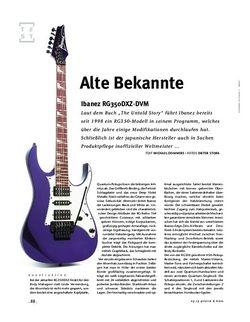 Gitarre & Bass Ibanez RG350DXZ-DVM