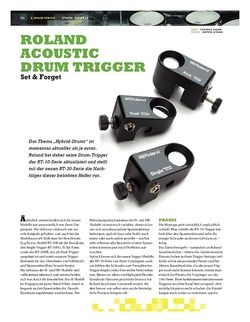Sticks Roland Acoustic Drum Trigger