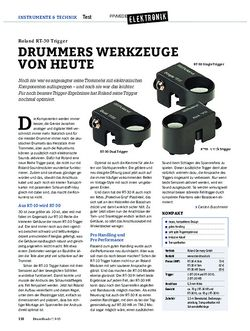 Drumheads Roland RT-30 Trigger