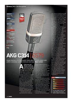 Future Music AKG C314