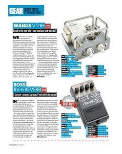 Total Guitar Boss RV-6 Reverb