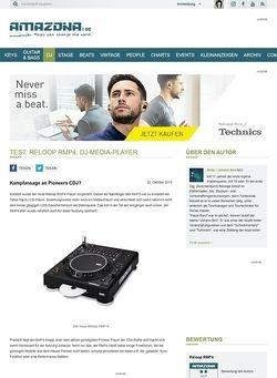 Amazona.de Test: Reloop RMP4, DJ-Media-Player