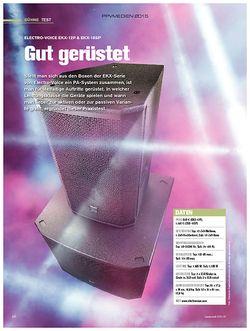 tastenwelt Electro-Voice EKX-12P und EKX-18SP