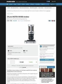 MusicRadar.com Shure MOTIV MV88