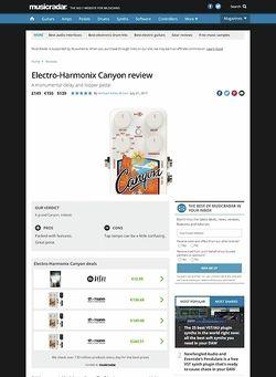 MusicRadar.com Electro-Harmonix Octavix