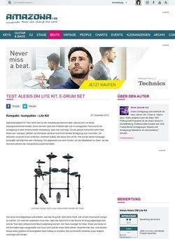 Amazona.de Test: Alesis DM Lite Kit, E-Drum Set