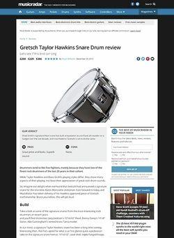MusicRadar.com Gretsch Taylor Hawkins Snare Drum