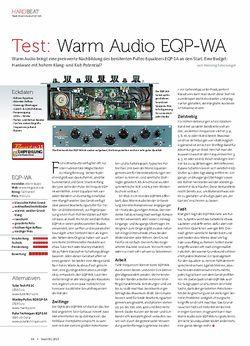 Beat Warm Audio EQP-WA