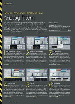 Beat Ableton Live - Analog filtern