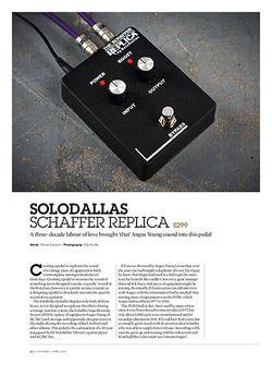 Guitarist Solodallas Schaffer Replica
