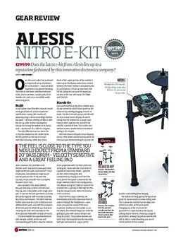 Rhythm Alesis Nitro E Kit