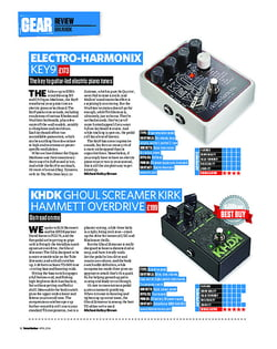 Total Guitar Electro-Harmonix Key9