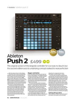 Computer Music Ableton Push 2