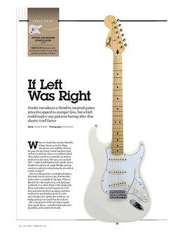 Guitarist Fender Jimi Hendrix Stratocaster