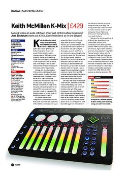Future Music Keith McMillen K-Mix