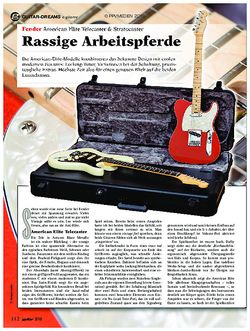 guitar Fender American Elite Telecaster & Stratocaster