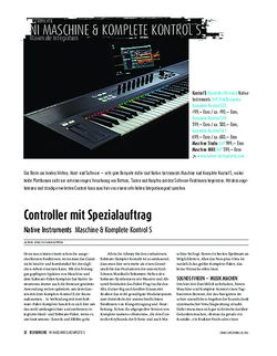 Sound & Recording Native Instruments - Maschine & Komplete Kontrol S
