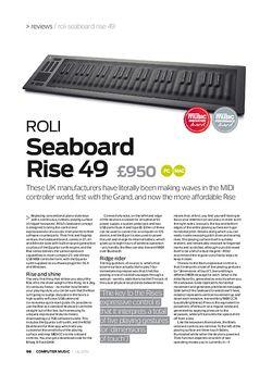 Computer Music ROLI Seaboard Rise 49