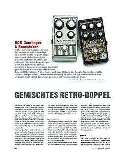 Gitarre & Bass DOD Gunslinger & Boneshaker, FX-Pedale