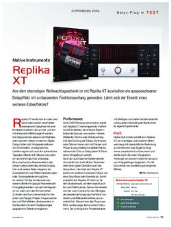 KEYS Native Instruments Replika XT