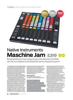 Computer Music Native Instruments Maschine Jam