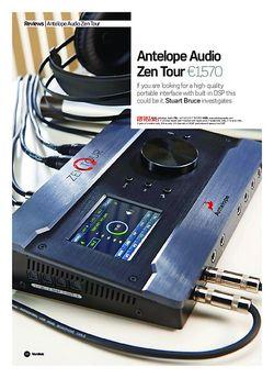 Future Music Antelope Audio Zen Tour