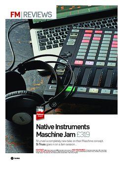 Future Music Native Instruments Maschine Jam