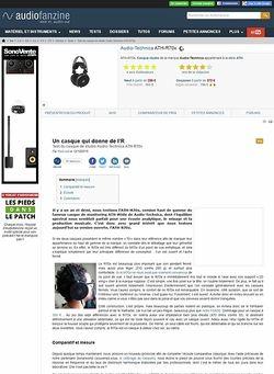 Audiofanzine.com Audio-Technica ATH-R70x