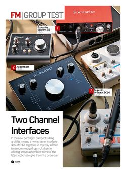 Future Music Two Channel Interfaces