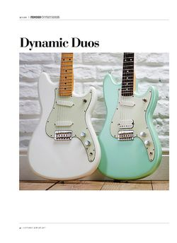 Guitarist Fender Offset Series Duo-Sonic HS