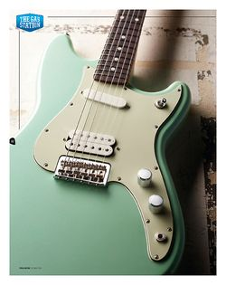 Total Guitar Fender Offset Series Duo-Sonic HS