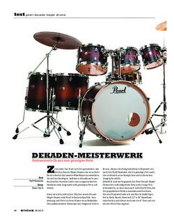 Sticks Pearl Decade Maple Drums