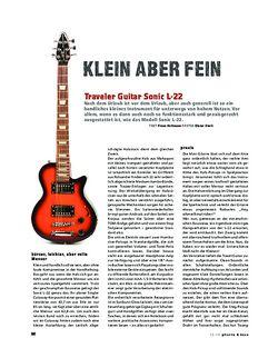 Gitarre & Bass Traveller Guitar Sonic 22