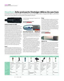 Beat Einzeltest: Zehn preiswerte Einsteiger-Mikros bis 500 Euro