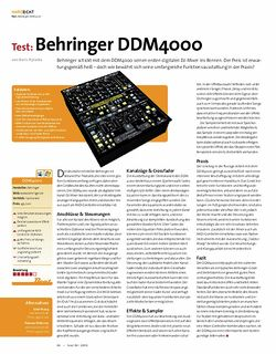 Beat Test: Behringer DDM 4000