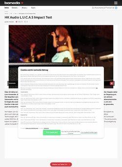 Bonedo.de HK Audio L.U.C.A.S. Impact