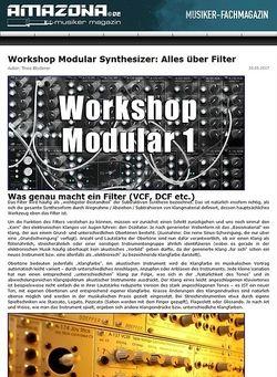 Amazona.de Modular Serie: Die Filter (Teil 2)