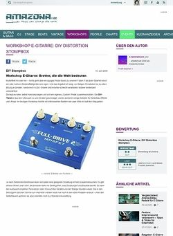 Amazona.de Workshop: DIY Distortion Stompbox