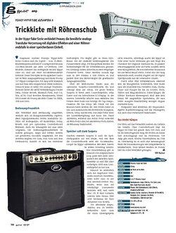 Guitar gear Amp - Peavey Vypyr Tube 60/Sanpera II