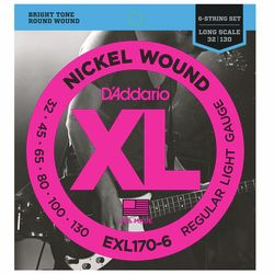 EXL170-6 Regular Light Daddario