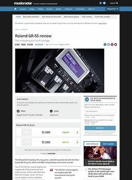 Case Roland GR-55