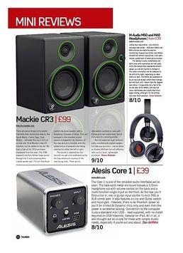M-Audio M50 and M40 Headphones