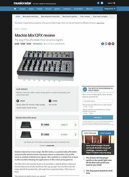 Mackie Mix12FX